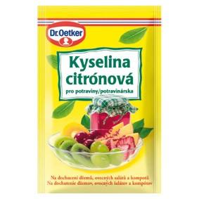 Čištění kávovaru kyselina citronová