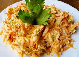 Recept Sytý mrkvový salát s vajíčkem - ideální dietní večeře b4d498fb48