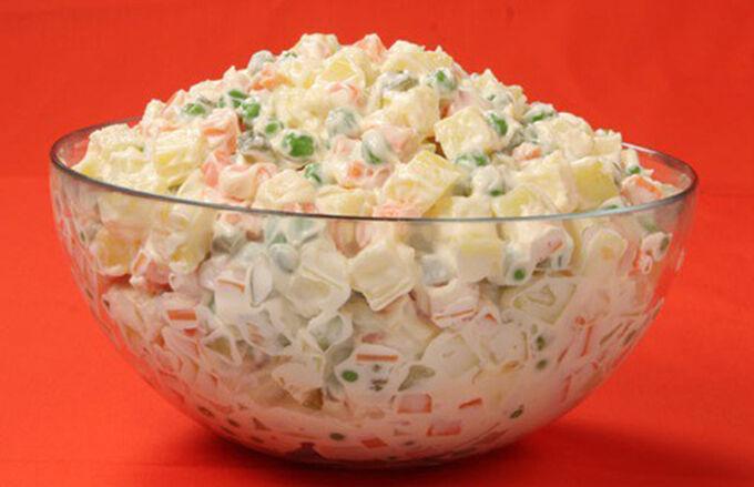 Recept Domácí majonézový salát