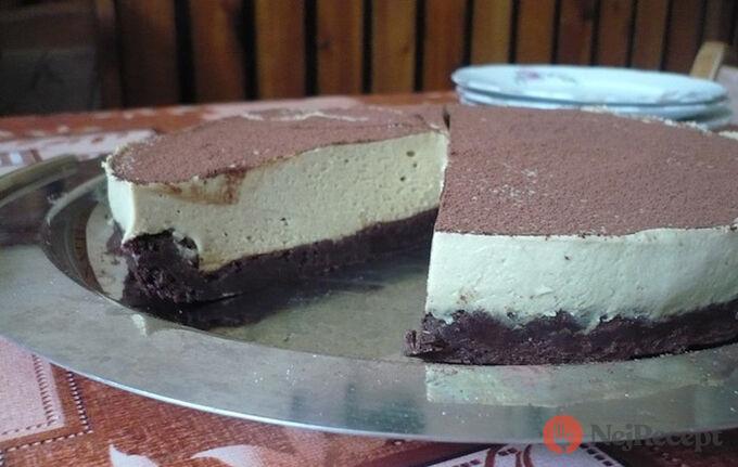 Recept Čoko dort bez mouky s kávovou pěnou