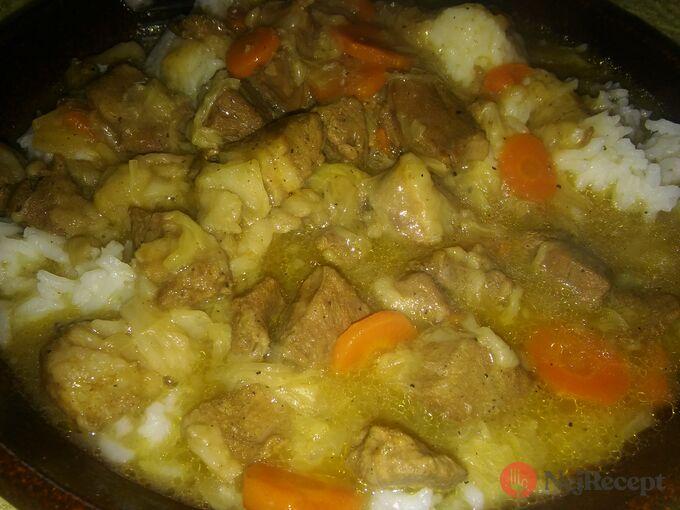 Recept Vepřové s mrkví a čínským zelím