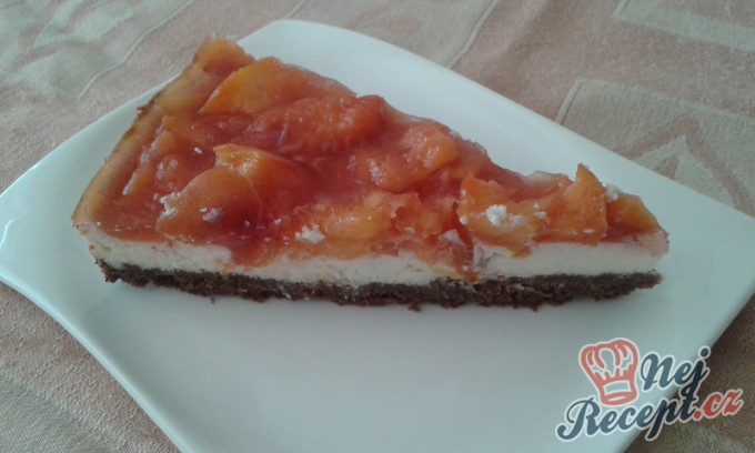 Recept Nektarinkový cheesecake s brusinkami