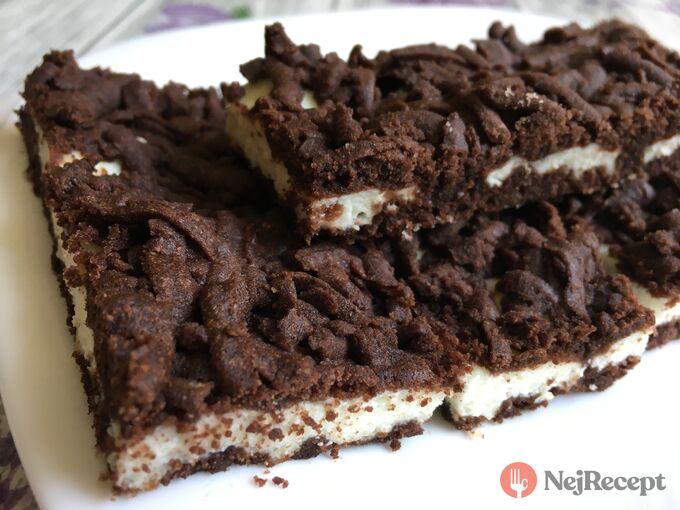 Recept Strouhaný tvarohový koláč