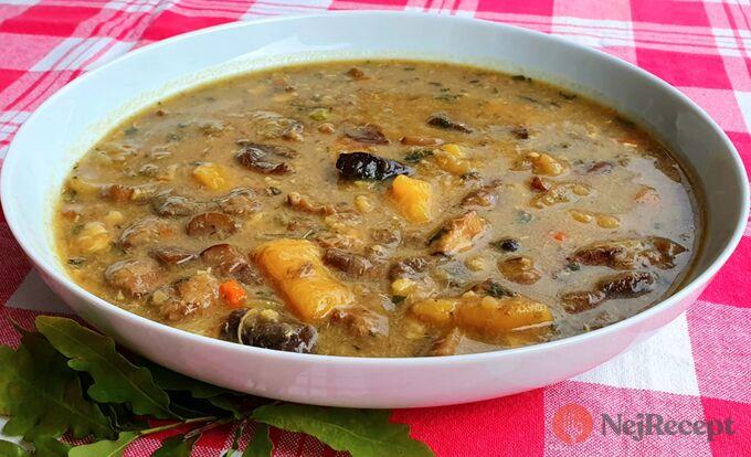 Recept Bramboračka s houbami