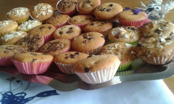Recept Velikonoční muffiny