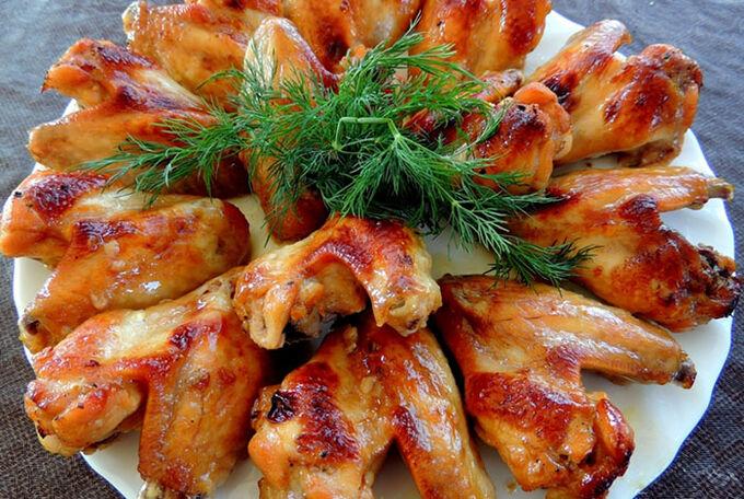 Recept Marinovaná kuřecí křidélka