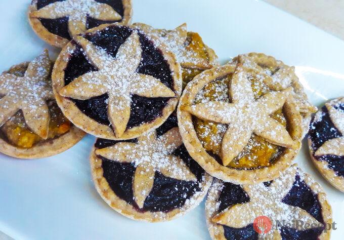 Recept Plněné košíčky s marmeládou, mákem, oříšky nebo nutelou