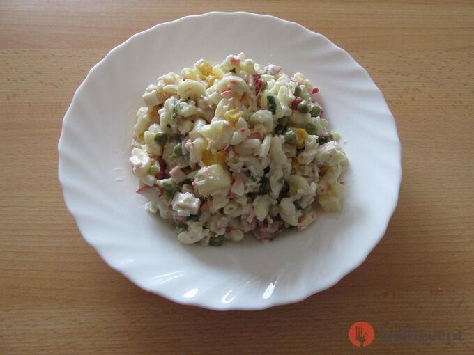 Recept Těstovinový salát ze základní školy