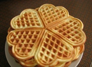 Recept Křupavé wafle