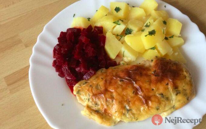 Recept Pikantní kuřecí řízky s brambory