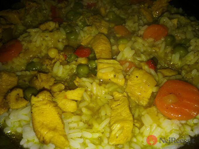 Recept Kuřecí se zeleninou na kari