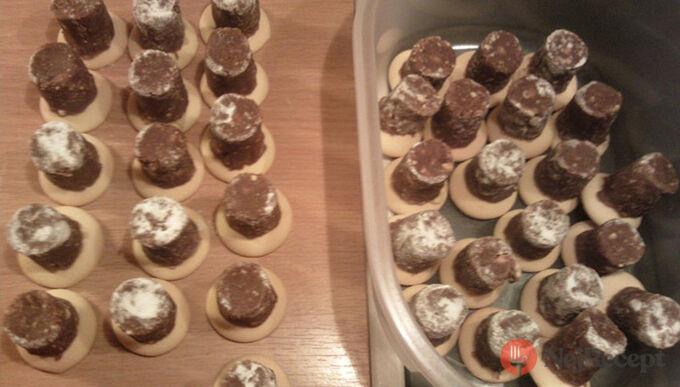 Recept Vosí hnízda - nepečené vánoční cukroví
