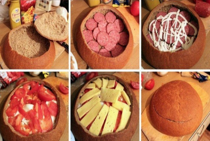 Recept Zapomeňte na obložené chlebíčky. Tímto párty chlebem okouzlíte všechny hosty.