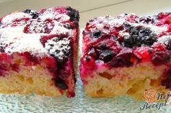 Příprava receptu Jogurtové kostky s malinami, krok 2