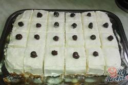 Příprava receptu Lahodné kokosové kostky s vanilkovým krémem, krok 1