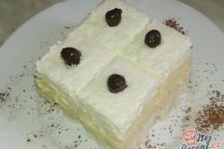 Příprava receptu Lahodné kokosové kostky s vanilkovým krémem, krok 2