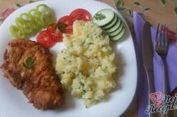 Příprava receptu Smažené kuřecí řízky v parmezánovém kabátku, krok 11