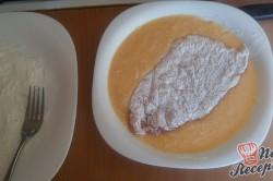 Příprava receptu Smažené kuřecí řízky v parmezánovém kabátku, krok 6