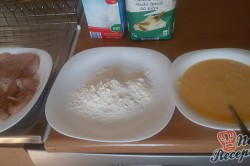 Příprava receptu Smažené kuřecí řízky v parmezánovém kabátku, krok 4