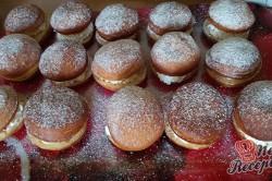 Příprava receptu Domácí koblihy s tvarohovým překvapením, krok 16
