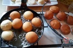 Příprava receptu Domácí koblihy s tvarohovým překvapením, krok 10