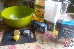 Příprava receptu Domácí koblihy s tvarohovým překvapením, krok 1