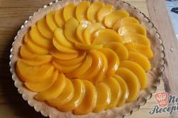 Příprava receptu Nejjednodušší ovocný koláč se želatinou, krok 9