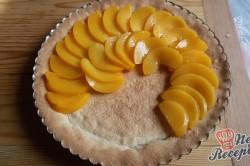 Příprava receptu Nejjednodušší ovocný koláč se želatinou, krok 8
