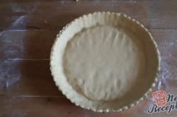 Příprava receptu Nejjednodušší ovocný koláč se želatinou, krok 6