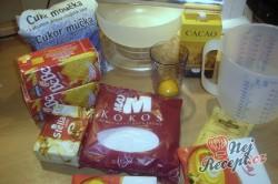 Příprava receptu Nepečené BB řezy, krok 1