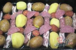 Příprava receptu Manželův oběd - vše z jednoho pekáče, krok 1