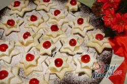 Příprava receptu Vánoční hvězdy, krok 4