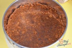 Příprava receptu Cheesecake z vaječného likéru, krok 3