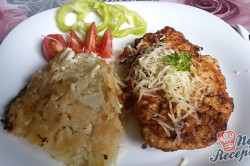 Příprava receptu Křehoučká kuřecí prsa s bramborovou přílohou, krok 13