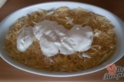 Příprava receptu Křehoučká kuřecí prsa s bramborovou přílohou, krok 11
