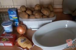 Příprava receptu Křehoučká kuřecí prsa s bramborovou přílohou, krok 8