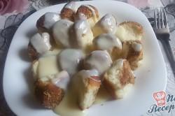 Příprava receptu Dukátové buchtičky se skořicí a vlašskými ořechy, krok 16