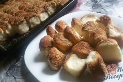 Příprava receptu Dukátové buchtičky se skořicí a vlašskými ořechy, krok 14