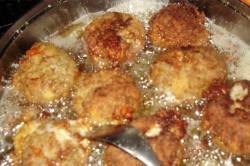 Příprava receptu Karbanátky se sýrem a kaší, krok 5