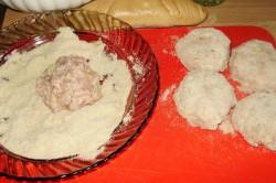 Příprava receptu Karbanátky se sýrem a kaší, krok 4