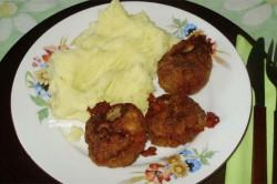 Příprava receptu Karbanátky se sýrem a kaší, krok 6