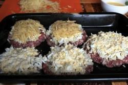 Príprava receptu Vynikajúci obed s mletým mäsom z jedného pekáča pre ,, lenivé ,, gazdinky
