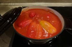 Příprava receptu Plněná paprika v rajčatové omáčce, krok 8