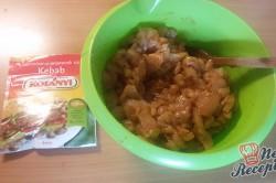 Příprava receptu Domácí kuřecí kebab - FOTOPOSTUP, krok 9
