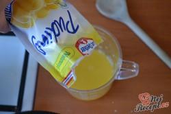 Příprava receptu Svěží pomerančový zákusek se šlehačkou, krok 4