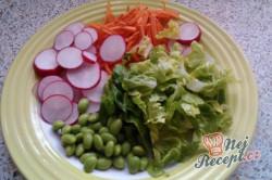 Příprava receptu Japonský zeleninový salát s asijskou zálivkou, krok 2