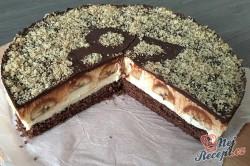 Příprava receptu Banánový dortík s pribináčekovým krémem, krok 1