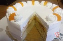 Příprava receptu Fantastický dort FLORIDA - fotopostup, krok 12