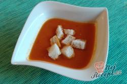 Příprava receptu Polévka z čerstvých rajčat, krok 1
