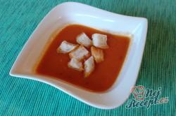 Příprava receptu Polévka z čerstvých rajčat, krok 2